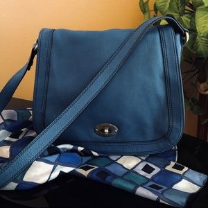 Fossil Saddle Bag Excellent Gently Used Condition